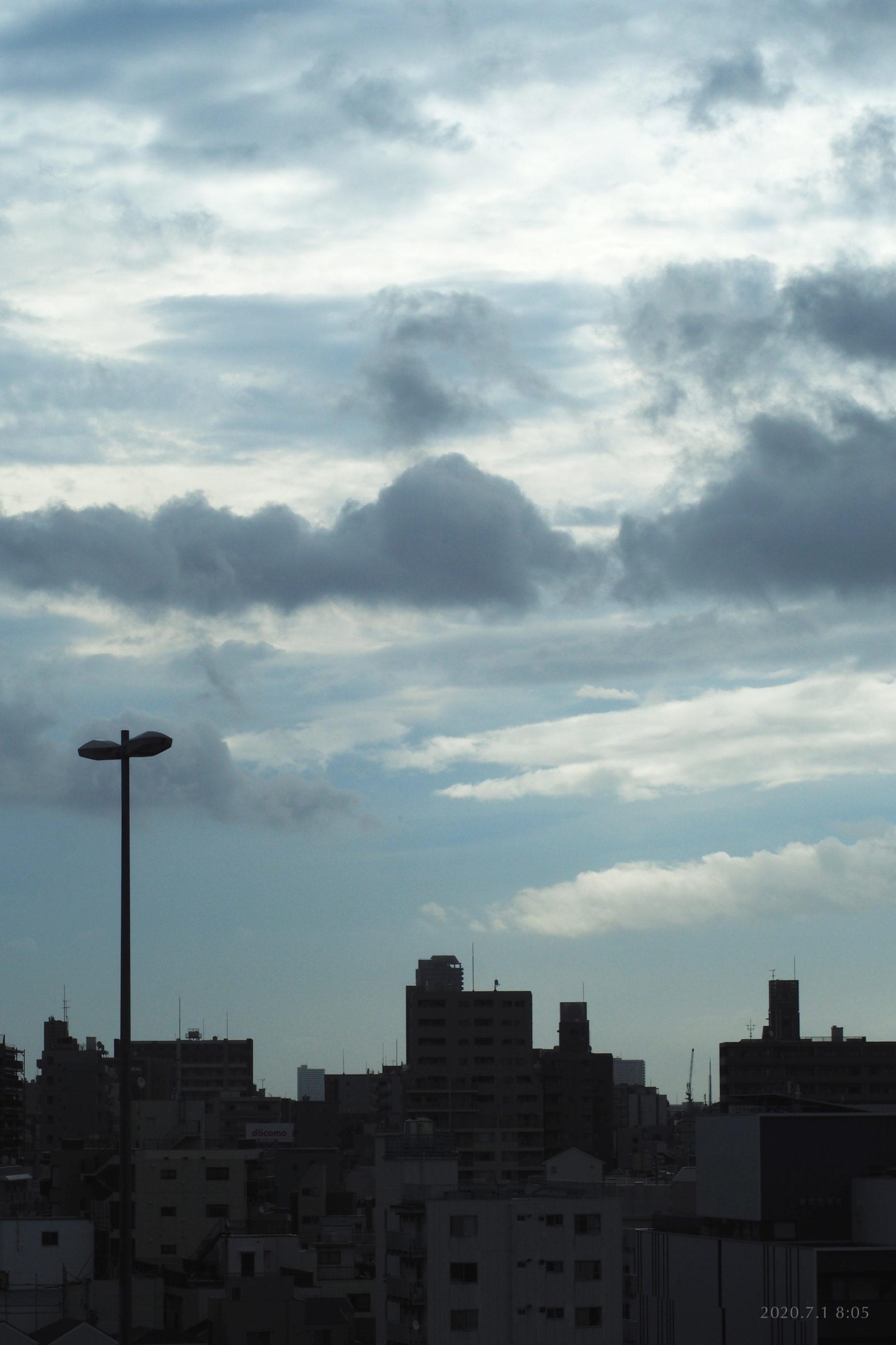 My skies 2020.7.1 8:05
