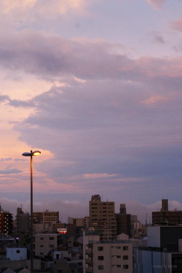 My skies 2020.7.4 18:58