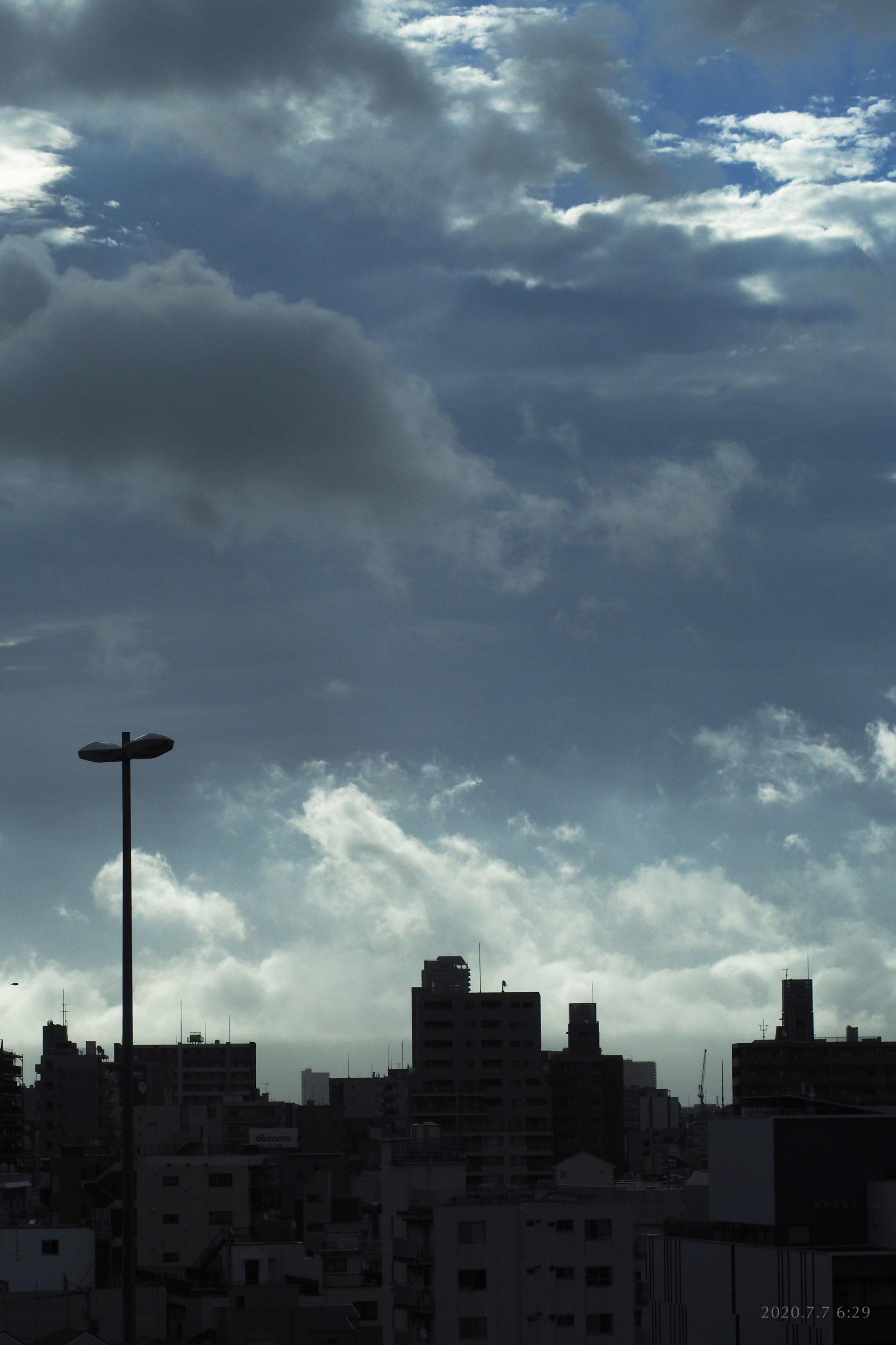 My skies 2020.7.7 6:29