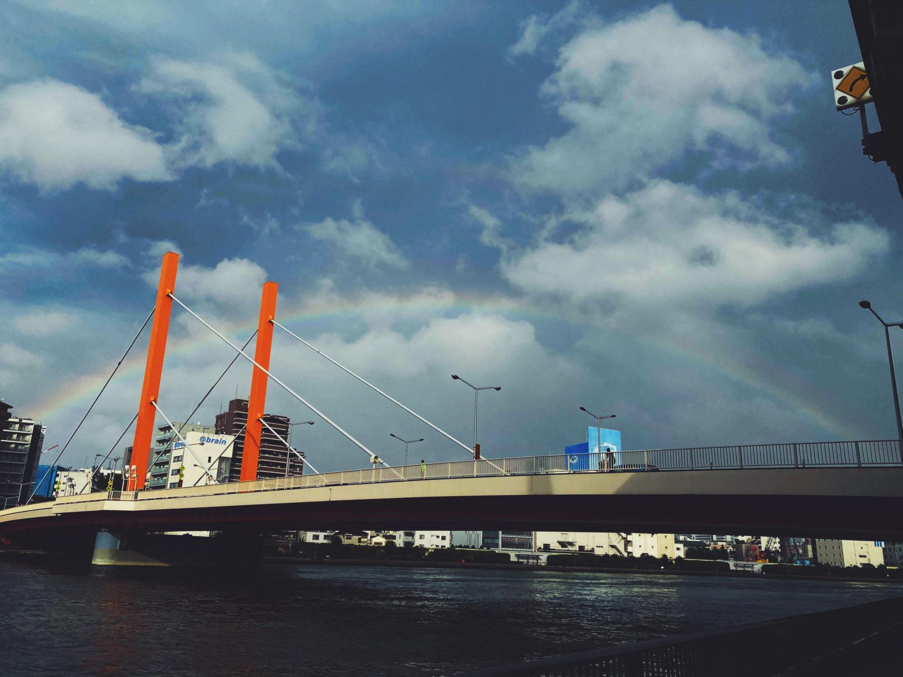 2020.7.11 雨あがりの虹